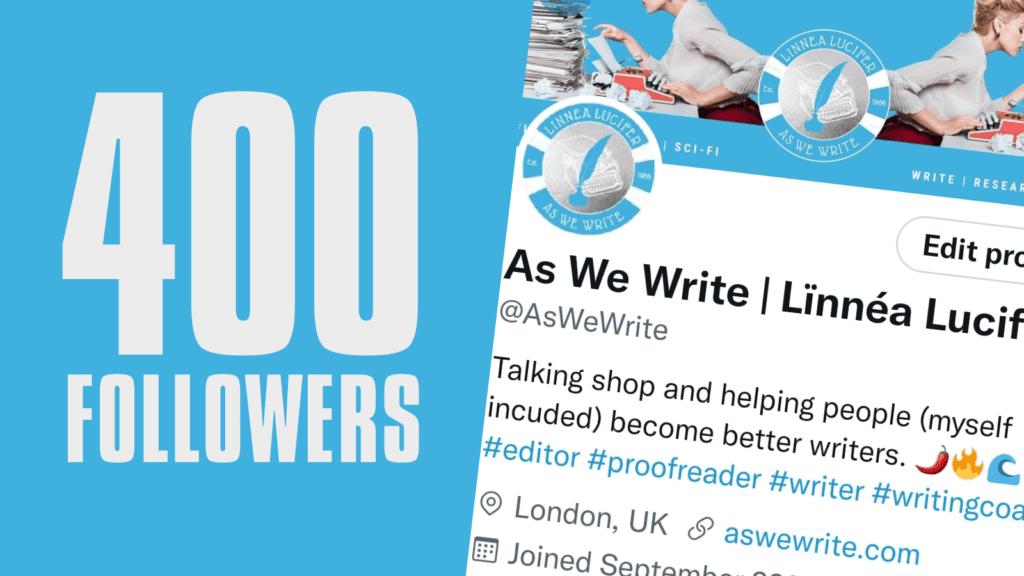 0 400 Followers