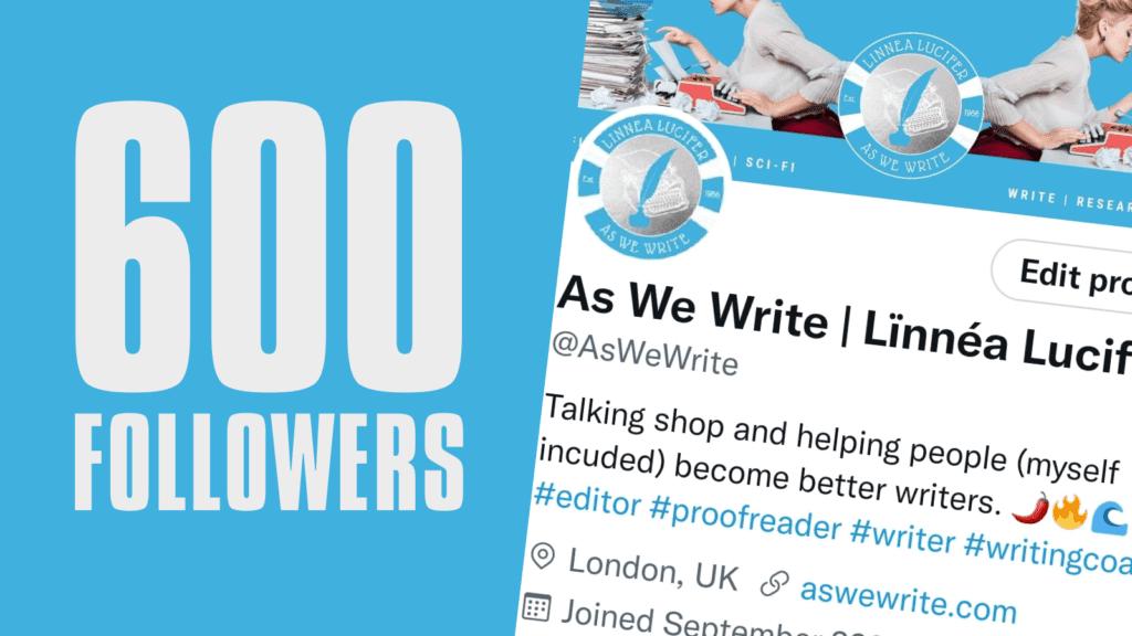 0 600 Followers