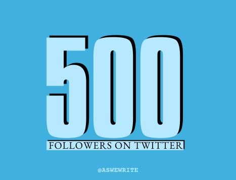 AWW MILESTONES 500 TWITTER