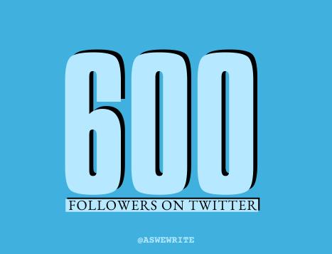 AWW MILESTONES 600 TWITTER