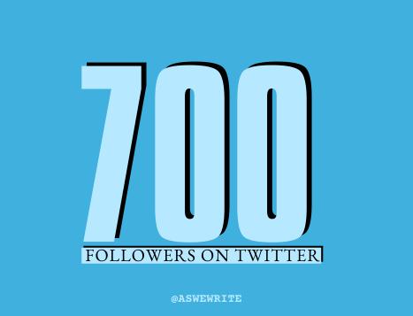 AWW MILESTONES 700 TWITTER