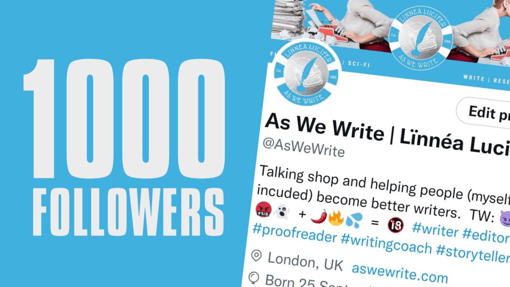 0 1000 Followers