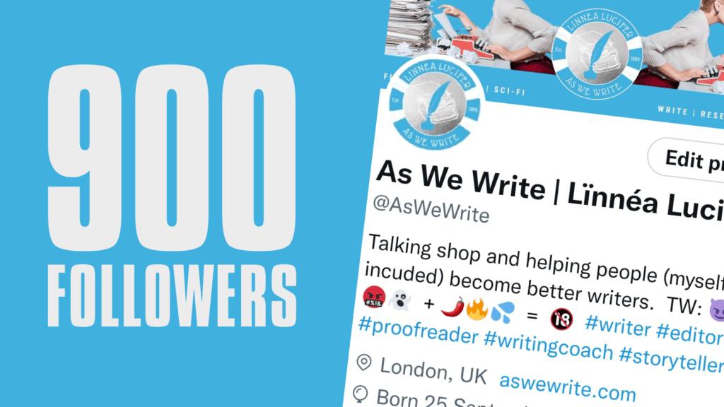 0 900 Followers